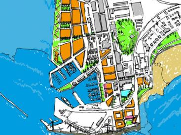 Consultation sketch of a potential future Ardrossan