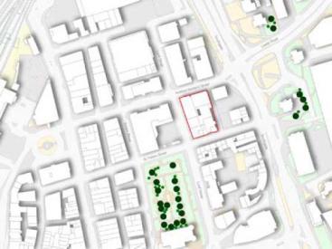St Peters Building - Plan